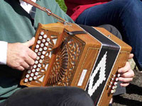 melodeon player